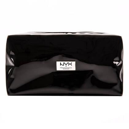 Cosmetiquera Large Vynil Zipper Makeup Bag