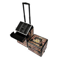 Makeup Artist Train Case - Girl On The Prowl