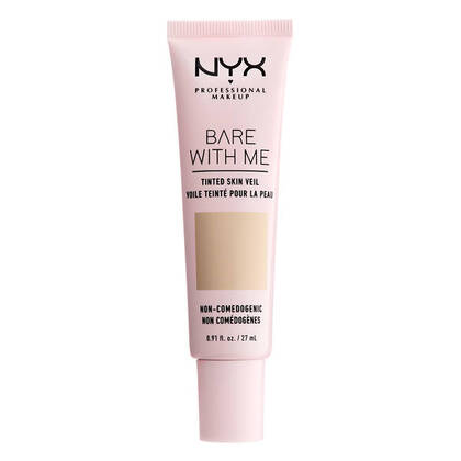 Base de Maquillaje Bare With Me de Nyx Professional Makeup Mexico para un look natural de cobertura ligera