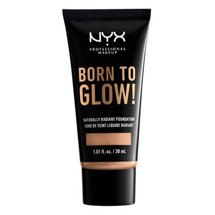 Base de Maquillaje Born To Glow Radiant Foundation de Nyx Professional Makeup