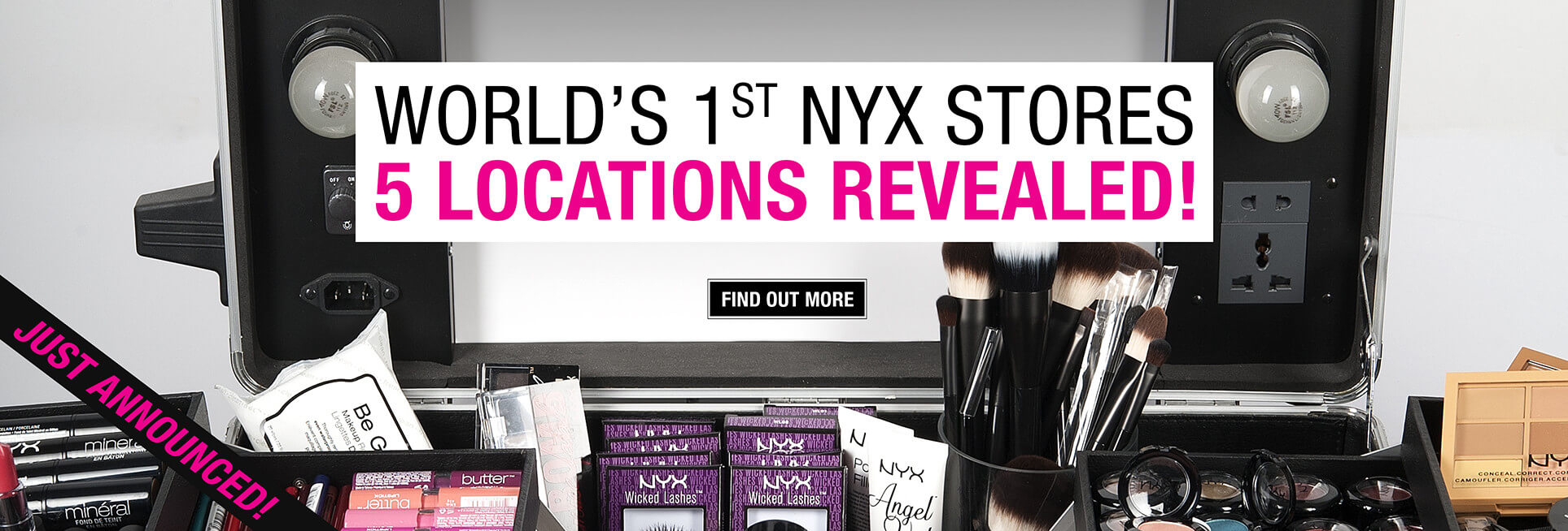World's First NYX Stores